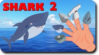 Finger Family Shark Family Nursery Rhyme | Animal Finger Family | Fish Finger Family for children