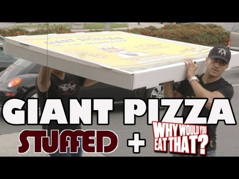 Why Would You Eat... a 54-INCH Bug Pizza?! - STUFFED Ep. 8
