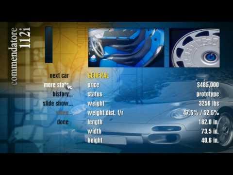 Need For Speed II SE - Isdera Commendatore 112i Showcase