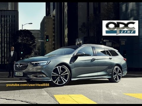 new 2017 opel insignia sports tourer opc line exterior pack hd youtube. Black Bedroom Furniture Sets. Home Design Ideas