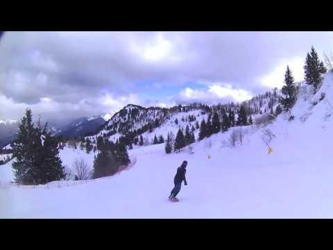 Snowboarding monte zoncolan vasja & boris march 2016