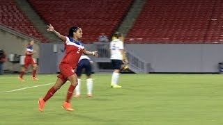 WNT vs. France: Field Level Highlights - June 14, 2014