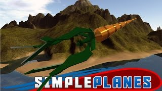 SimplePlanes Best Creations - A Flying Carrot!? - SimplePlanes PC Gameplay