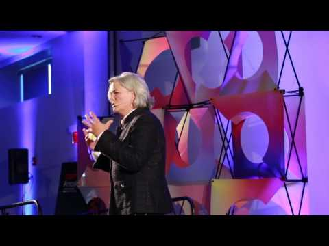 Helping girls discover their power: Elaine Hamel at TEDxAmos
