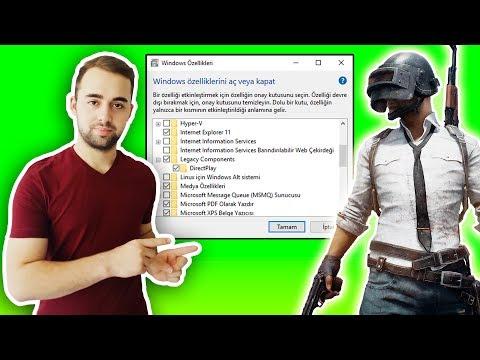 Directx 11 Nasıl Yüklenir (Aktif Etme), Pubg Lite Directx 11