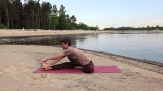 Комплекс хатха йоги на каждый день. 45 минут.