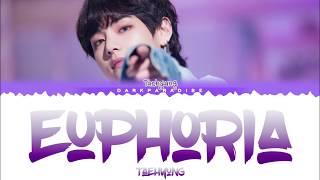 BTS V Taehyung Euphoria Lyrics
