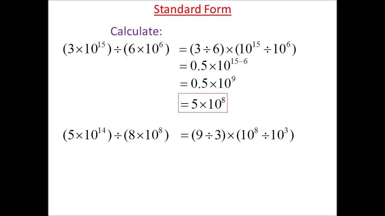 Standard form division 3 youtube standard form division 3 falaconquin