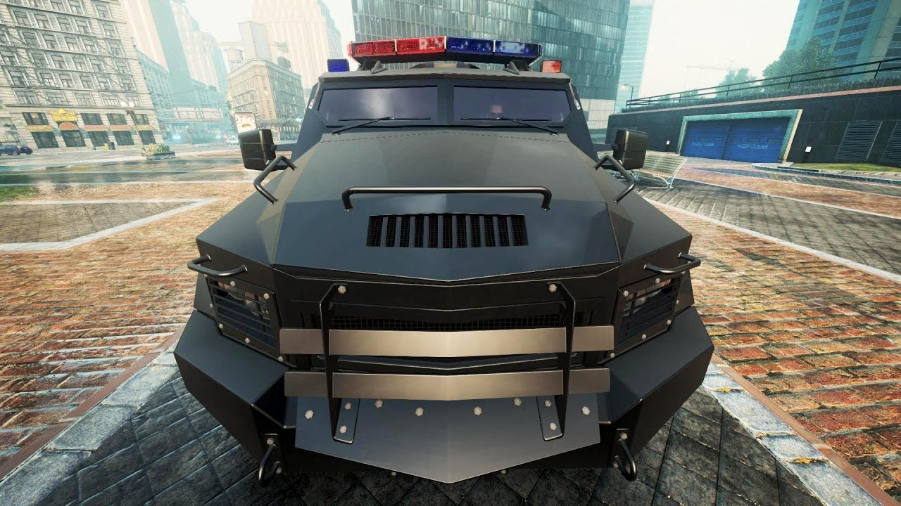 Swat Truck Police Chase Nfs Most Wanted 2012 Youtube