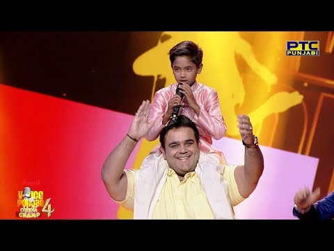 Bunty | Kande Utte Mehrma Ve | Folk Song Round | Studio Round 15 | Voice Of Punjab Chhota Champ 4