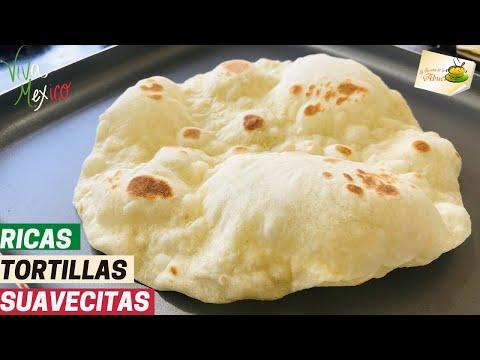 TORTILLAS DE HARINA con mantequilla CASERAS 🇲🇽