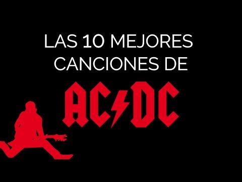 Las 10 mejores canciones de AC/DC