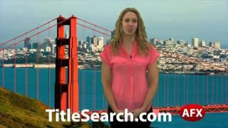 Property title records in San Luis Obispo County California | AFX