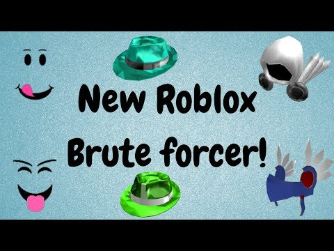 Free Roblox Bruteforcer 2018 New And Updated Youtube