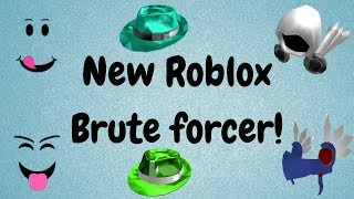 FREE ROBLOX BRUTEFORCER! 2018 [NEW AND UPDATED]