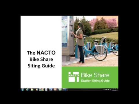An introduction to NACTO's Bike Share Station Siting Guide