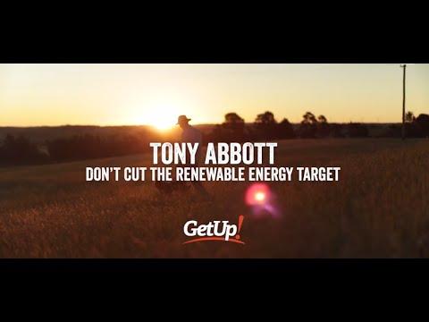 Tony Abbott: Protect the RET, protect regional Australia