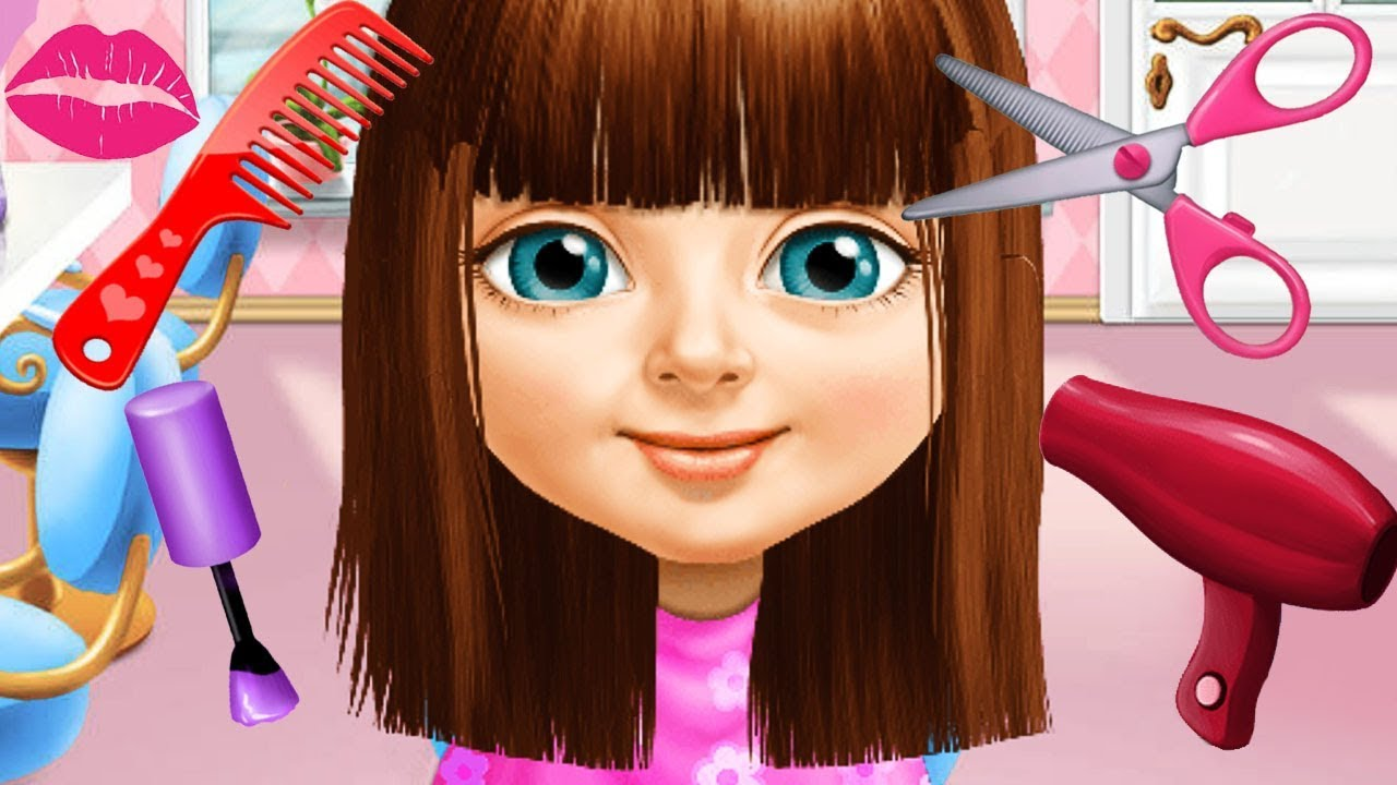 Fun Horse Care Games - Sweet Baby Girl Summer Fun Hair ...
