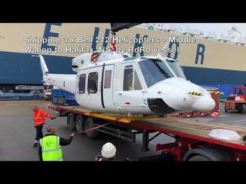Bell 212 Helicopters, x3 shipping to Canada