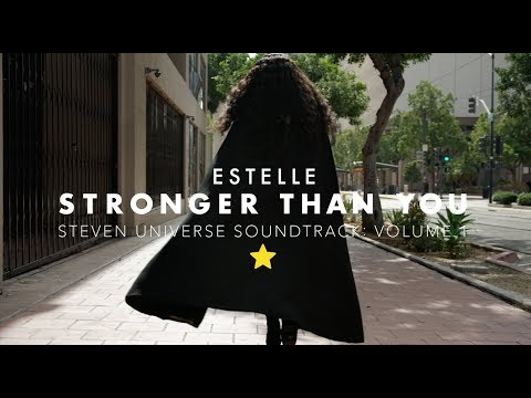 "Steven Universe | Estelle Performs ""Stronger than You"" (MUSIC VIDEO) 