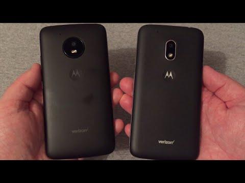 Motorola Moto E4 vs Moto G4 Play (Verizon Wireless) - YouTube