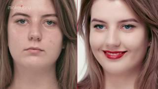 Серия 1: Как визуально увеличить губы с помощью макияжа?(, 2016-12-26T13:43:21.000Z)