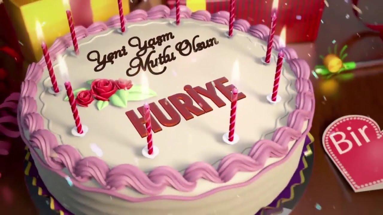İyi ki Doğdun NERGİS - İsme Özel Doğum Günü Şarkısı