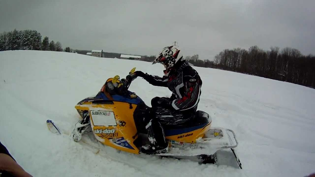 2007 Ski-doo XRS 800 Sno-stuff can - YouTube