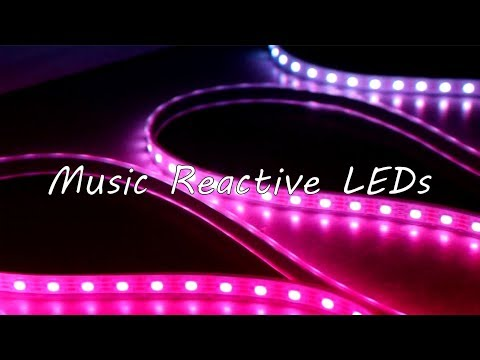 How to Make Music Reactive LEDs | Arduino