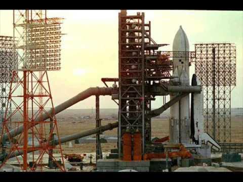 The Buran Russian spacecraft