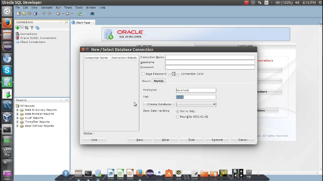 How To Connect MySQL To Oracle SQL Developer