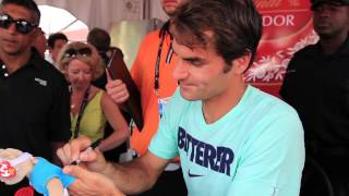 Toronto 2014 Wednesday Federer Autographs
