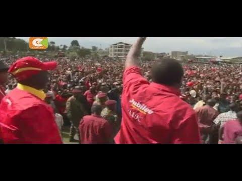 Kenyatta, Ruto campaign in Sotik, Bomet