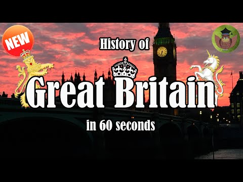 Hitory of Great Britain in 60 seconds