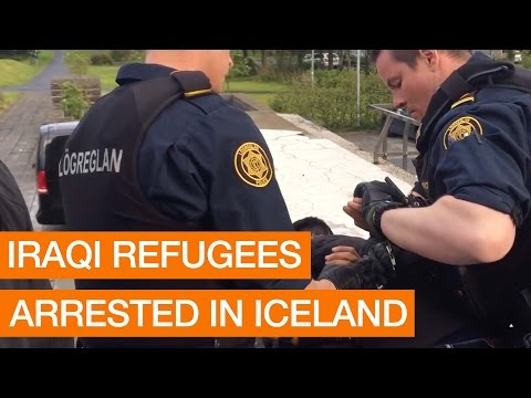 Iraqi Refugees Arrested In Iceland (Package)