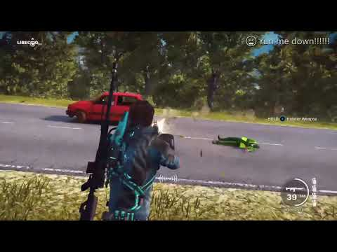 Hit and run (just cause 3)