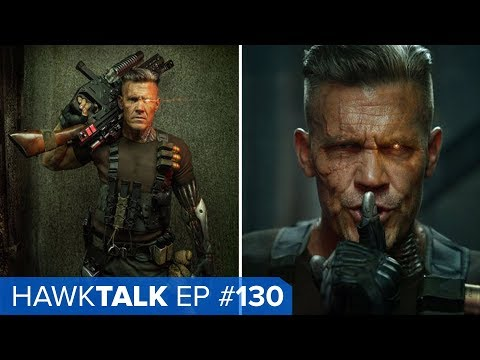 Black Cat and Silver Sable Movie! Cable and Domino! | HawkTalk Ep. 130