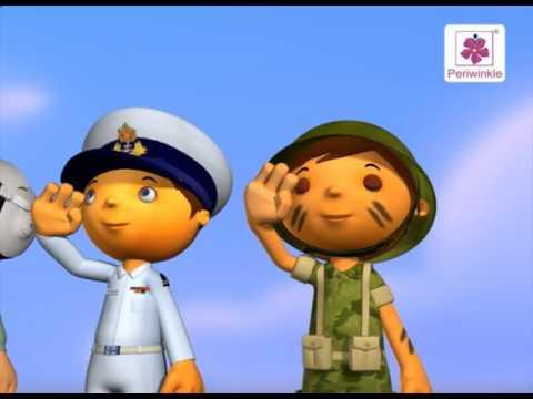 We Love Bharat Mata | 3D English Nursery Rhyme for Kids | Periwinkle | Rhyme #102