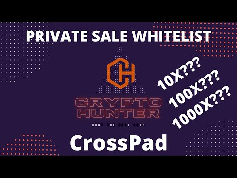 100x? Cross Pad Whitelisting Tutorial deutsch. Crypto Hunter. Blockchain IDO ICO Private Sale