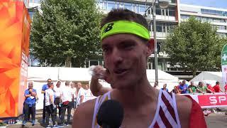 Koen Naert (BEL) after winning gold in the Marathon