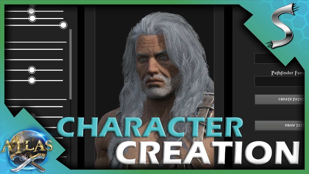 Character Creation Overview Aging Tattoos More Atlas Pirate Survival Gameplay