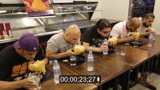 Desafio da Coxinha Gigante - por Biah Lopes