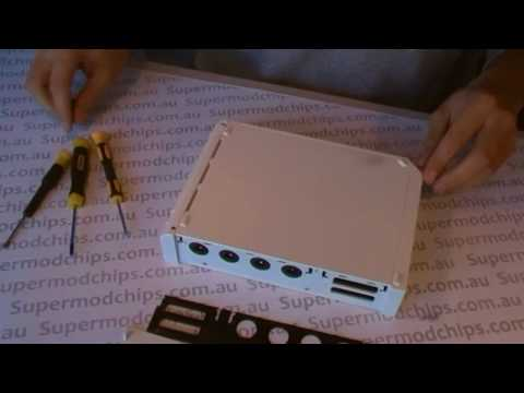 how to take apart a wii
