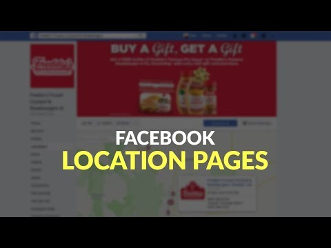 Facebook Location Pages Versus Local Business Pages