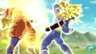 Dragon Ball Z Burst Limit PS3 Trunks vs Goku HD PVR 2 60FPS Test