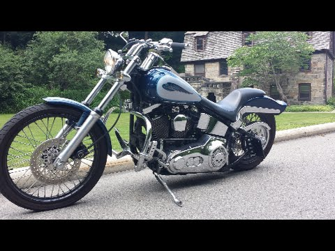 How to Install Front Fork Lowering Kit For Harley Softail