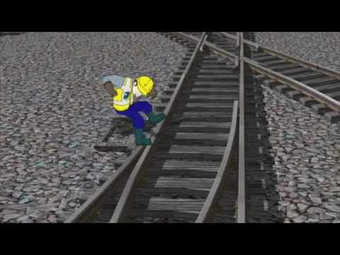 NS Oversteken van spoor en wissels