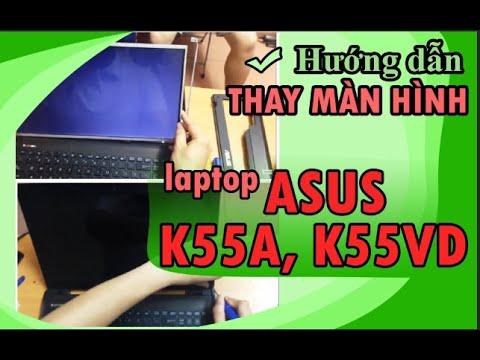 Hướng dẫn thay bàn phím laptop Asus K55, K55A, K55V