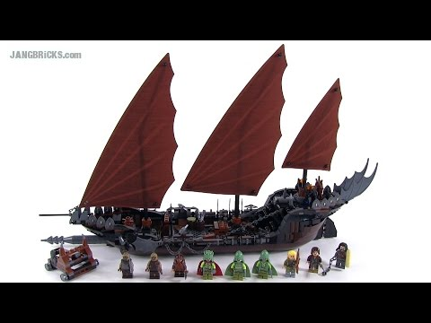 Lego Lord Of The Rings Pirate Ship Ambush Review Set 79008 Youtube