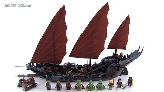 LEGO Lord of the Rings Pirate Ship Ambush review! set 79008